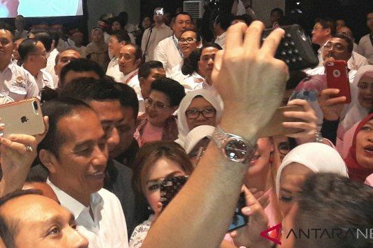 """Relawan Bravo-5 yakini mayoritas suara """"emak-emak"""" untuk Jokowi"""