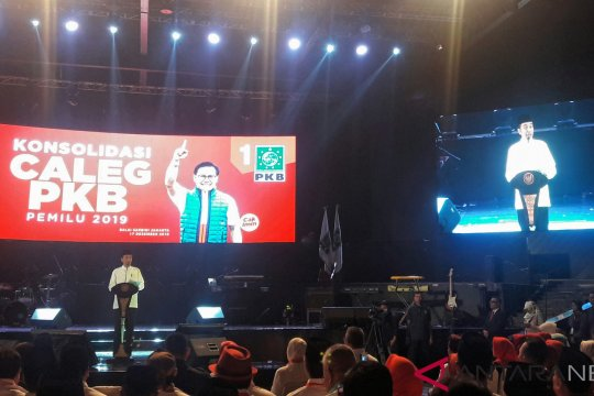 Presiden ajak PKB cegah isu hoaks dalam meningkatkan elektabilitas partai