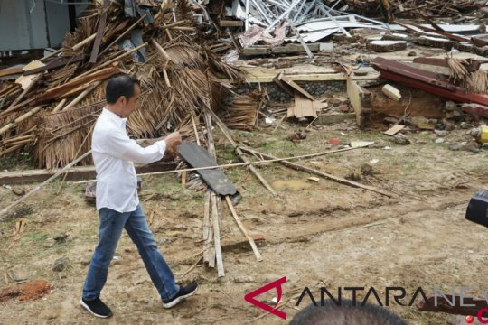 Presiden minta BMKG lengkapi alat deteksi dini tsunami