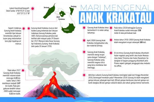 Mari Mengenal Anak Krakatau