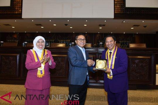 Ketua MPR minta semua pihak tidak gaduh jelang  Pemilu 2019