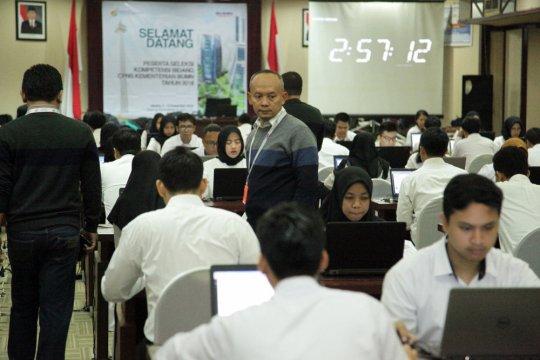 Kementerian BUMN gelar seleksi kompetensi 220 peserta CPNS