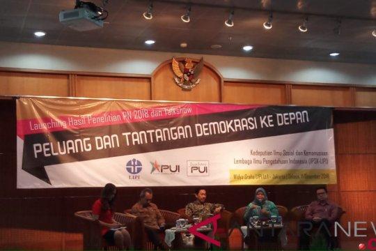 "LIPI: Indonesia alami kegagalan konsolidasi ""civil society"""