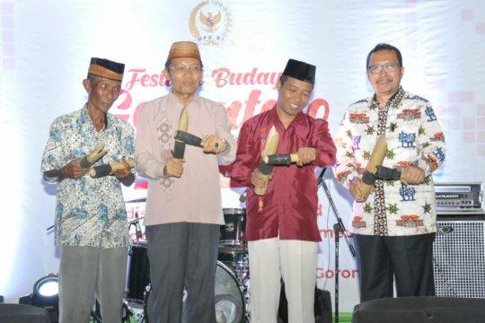 MPR sosialisasi Empat Pilar di Festival Budaya Gorontalo
