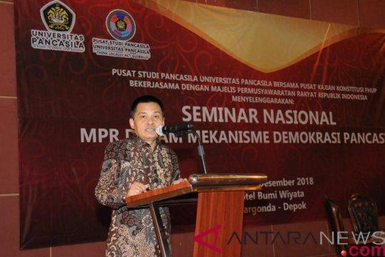 Sekjen MPR sebut desain ketatanegaraan harus sesuai dengan ideologi Pancasila