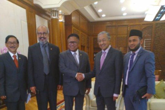 Oesman Sapta temui Mahathir bahas penguatan hubungan bilateral