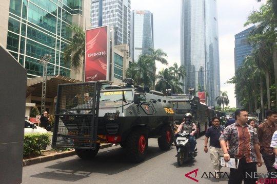 Polisi terapkan pengamanan berlapis kawal aksi bela Uighur