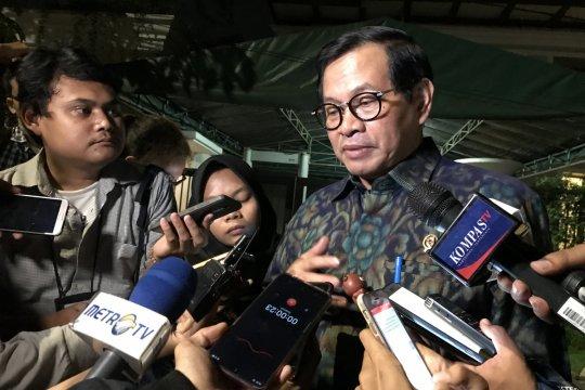 JK pimpin rapat TKN Jokowi-Ma'ruf di Dharmawangsa
