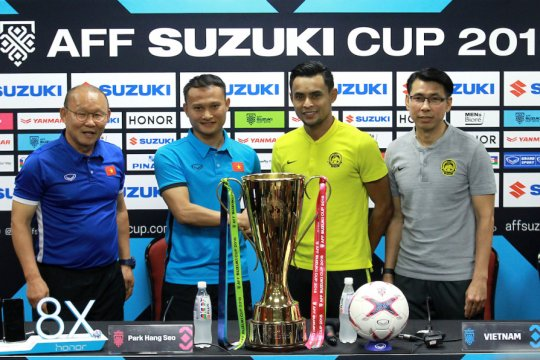 Malaysia-Vietnam 2-2 di final pertama Piala AFF