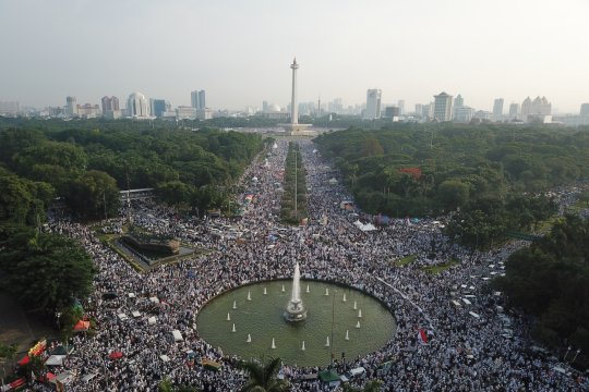"Pemuda Muhammadiyah harap tidak ada politisiasi Reuni ""212"""