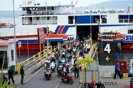 ASDP siap layani 3,3 juta penumpang di 10 lintasan penyeberangan