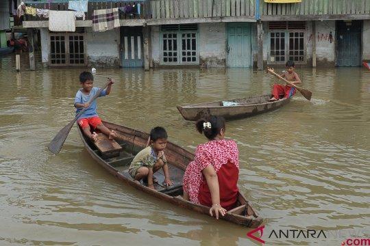 Seribu lebih rumah warga kebanjiran di Batanghari