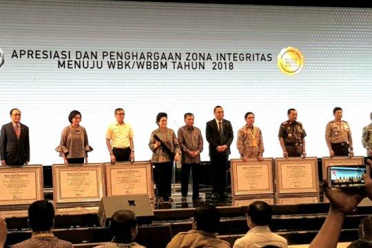 Kotim raih penghargaan zona integritas bebas korupsi