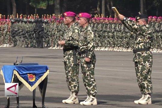 Mayjen TNI Suhartono resmi jabat Dankormar ke-23