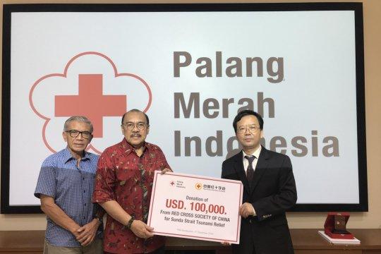 Palang Merah China salurkan Rp1,4 miliar bantu korban tsunami Selat Sunda
