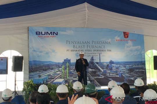 Krakatau Steel yakini revisi aturan impor baja bakal kurangi impor