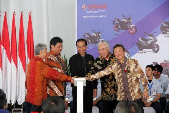 Industri sepeda motor agresif masuk pasar ekspor