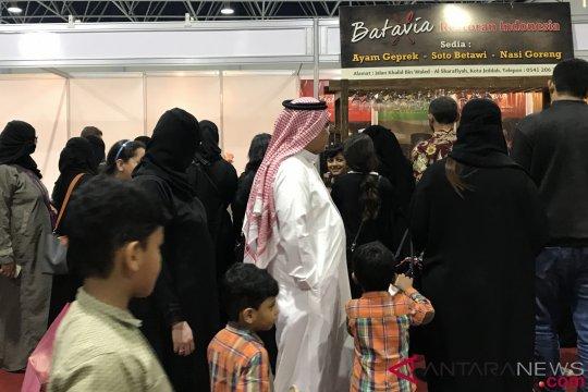 Kuliner nusantara diserbu pengunjung Indonesia Expo