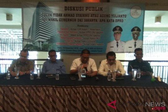 Tiga cawagub dari PKS silaturahim ke DPRD DKI