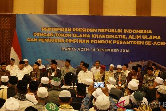 Presiden bertemu ulama Aceh bahas RUU Pesantren