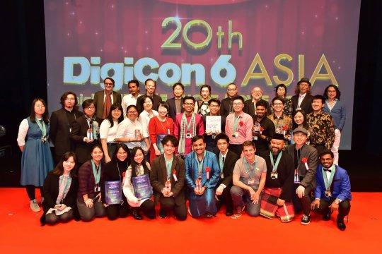 Sineas Indonesia raih penghargaan di DigiCon6 Asia