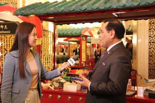 Produk dan objek wisata Nusantara tampil di acara televisi China