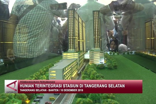 Hunian terintegrasi stasiun di Tangerang Selatan