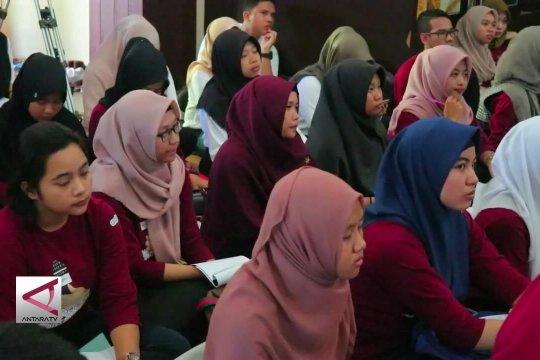 Pelajar dan mahasiswa Kalsel ikuti  lomba Presenter TV Antara