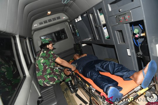 Prajurit TNI bangun hunian sementara korban tsunami