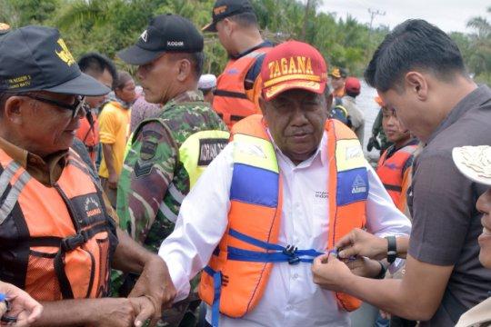 Penyakit akibat banjir serang ribuan warga Kampar-Riau