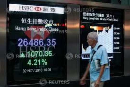Bursa Hong Kong menguat, Indeks Hang Seng dibuka naik 0,25 persen
