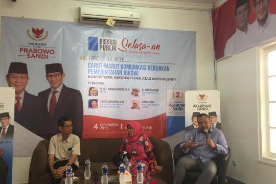 Pengamat: gaya komunikasi Jokowi harus diubah