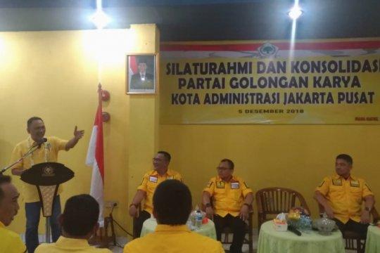 Golkar DKI sebut Jakarta Pusat epicentrum kebangkitan partai
