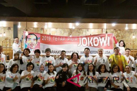 TKN Jokowi-Ma'ruf konsolidasi dengan relawan di AS