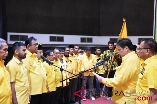 Airlangga targetkan Golkar Sumbar raih 14 kursi DPRD Provinsi