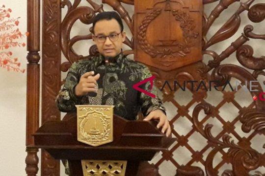 Anies: Jangan dahului takdir dengan spanduk Persija juara