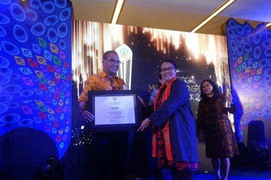 LKBN Antara raih penghargaan Media Menginspirasi