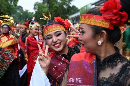 Pawai Budaya KKI tunjukkan keberagaman Indonesia