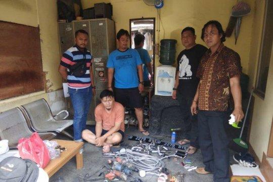 Polisi ringkus spesialis pencurian rumah mewah kosong