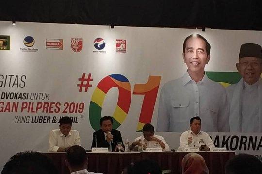 Jubir TKN: Saatnya tim Jokowi laporkan pelanggaran kampanye hitam