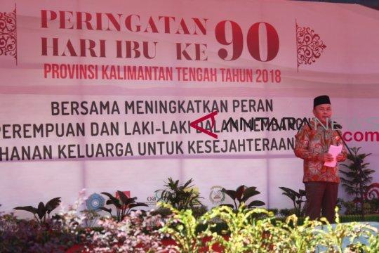 Gubernur Kalteng berikan penghargaan lima kabupaten dalam pemberdayaan perempuan