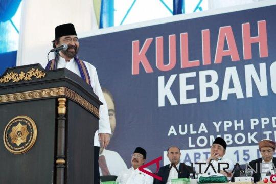 Paloh ajak santri Nahdlatul Wathan jaga ideologi bangsa