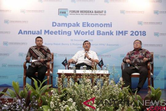 Dampak ekonomi langsung Pertemuan IMF-WB Rp5,5 triliun