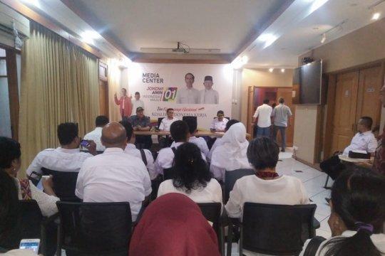 Ketua Relawan Anoa bacakan deklarasi dukungan untuk Jokowi-Ma