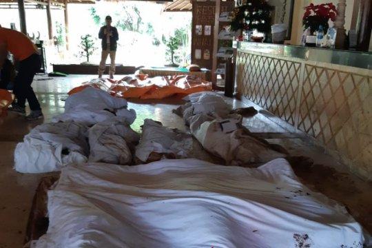 Warga Tanjung Lesung kembali mengungsi karena sirine peringatan tsunami