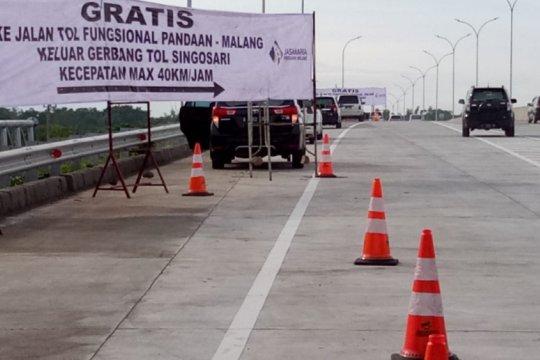 Tol Pandaan-Malang dibuka fungsional untuk kelancaran libur Natal