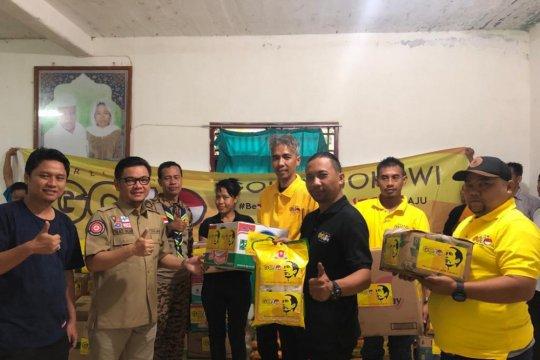 Relawan Gojo salurkan bantuan untuk korban tsunami Banten
