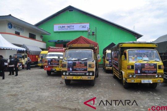 ACT kirim lima truk bantuan untuk korban tsunami Banten