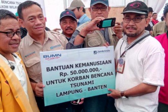 QNET Salurkan Bantuan Untuk Korban Tsunami Selat Sunda