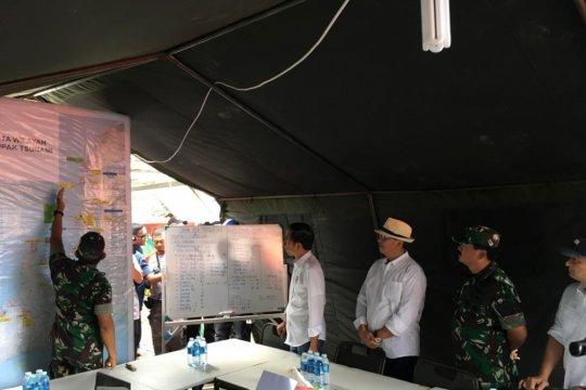 Gubernur Banten ingin percepat penanganan dampak tsunami